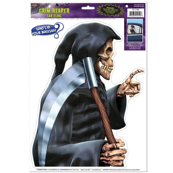 Fensterfolie Grim Reaper, 35cm