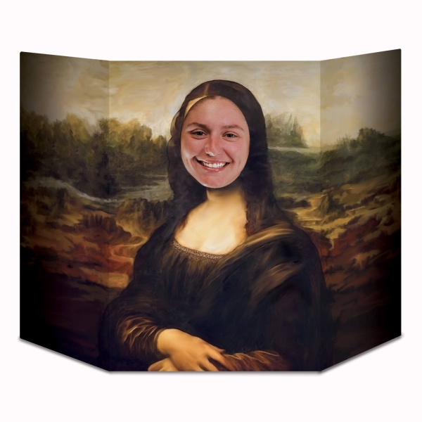 Fotowand Aufsteller Mona Lisa