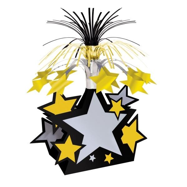 Party-Extra Tischdeko Star Celebration, 38 cm