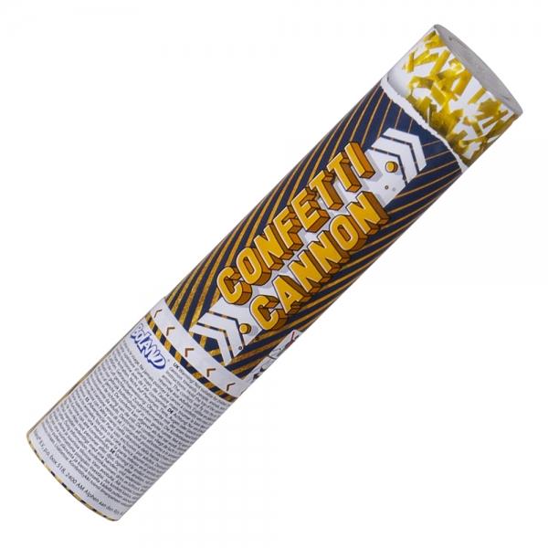 Konfetti-Kanone Golden Glitter - Silvesterdeko