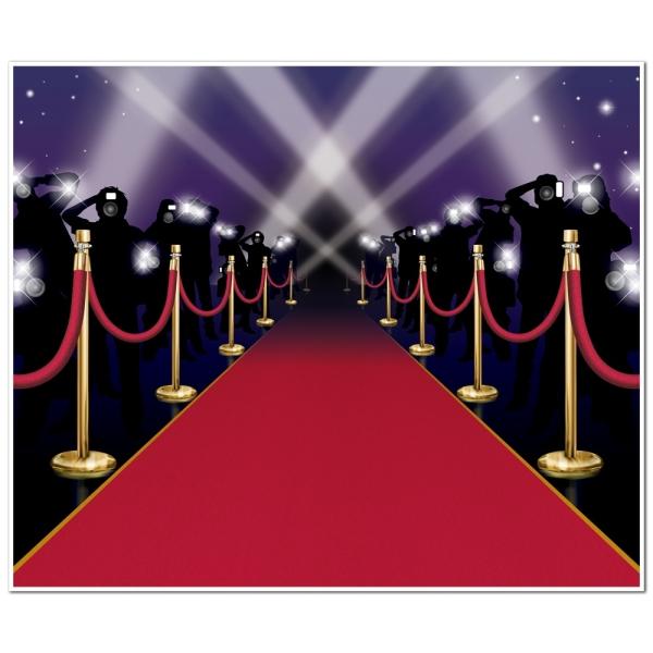 Dekofolie Premierenabend - Hollywood VIP Deko