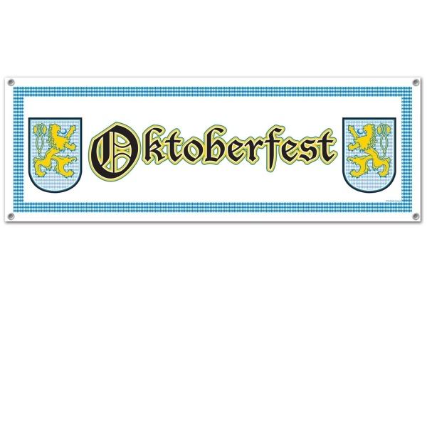 Party-Extra Mega Partybanner Oktoberfest