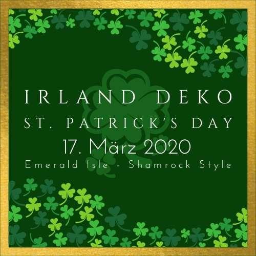 St. Patricks Day Irland Deko
