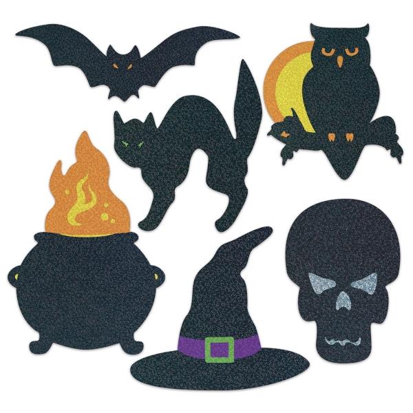 Halloween Deko-Silhouetten - Gruselpartydeko