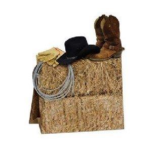 Tischdeko Cowboy-Style, 24cm groß