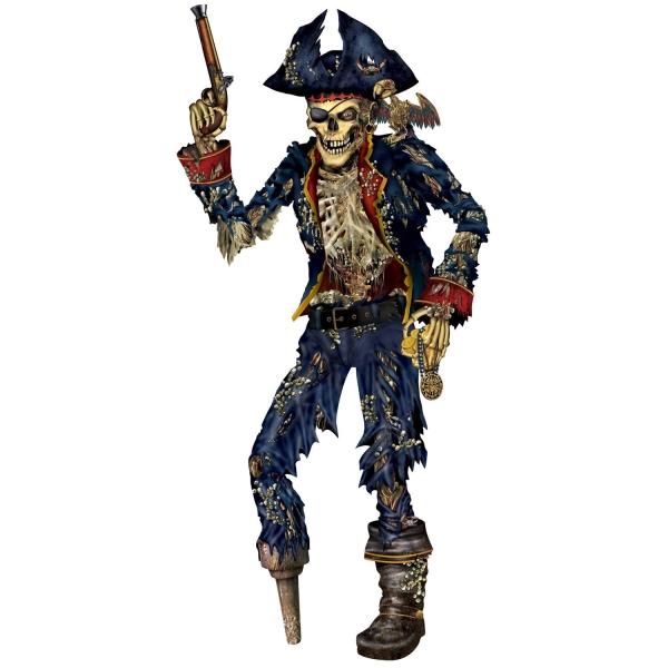Riesen Cutout-Figur Untoter Pirat - Piraten Deko