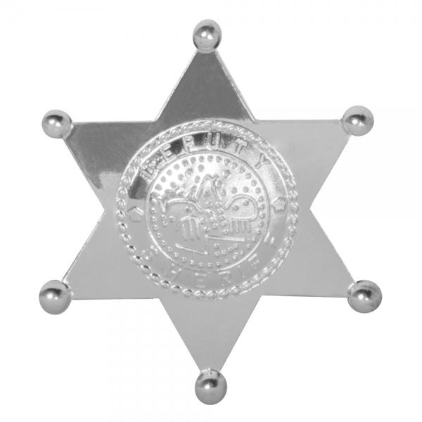 Deputy Sheriff Stern - Westernparty Deko