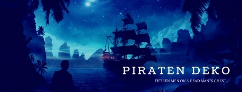 Party-Extra Piraten Deko für Deine Crew