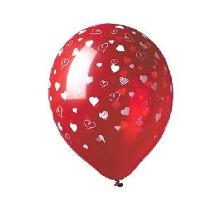Luftballons Herzschmerz,