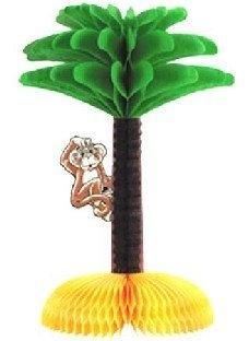 Party-Extra Tischdeko Kletteraffe - Beachparty Hawaii Deko