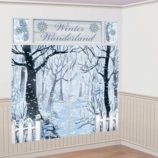Dekofolien Winterparty