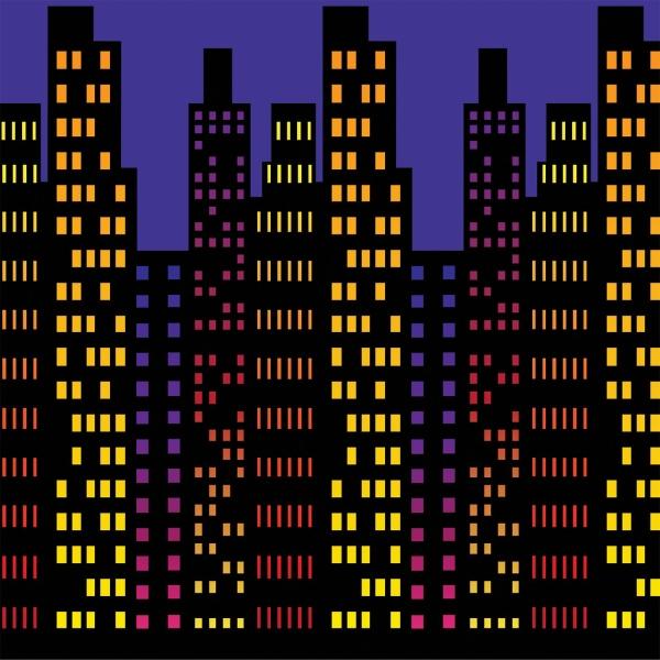 Dekofolie Manhattan -- Wanddeko Großstadtkulisse