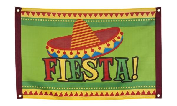 Dekofahne Mexikanische Fiesta - Mottoparty Mexiko Deko