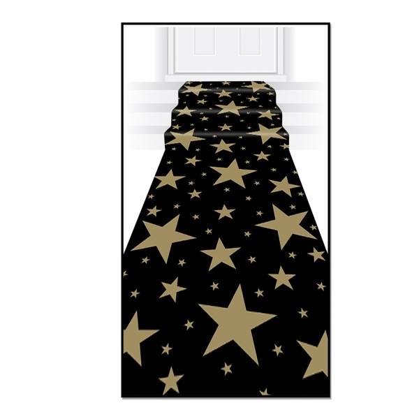 Teppichlaeufer Golden Starlight - Hollywood VIP Glamour Deko