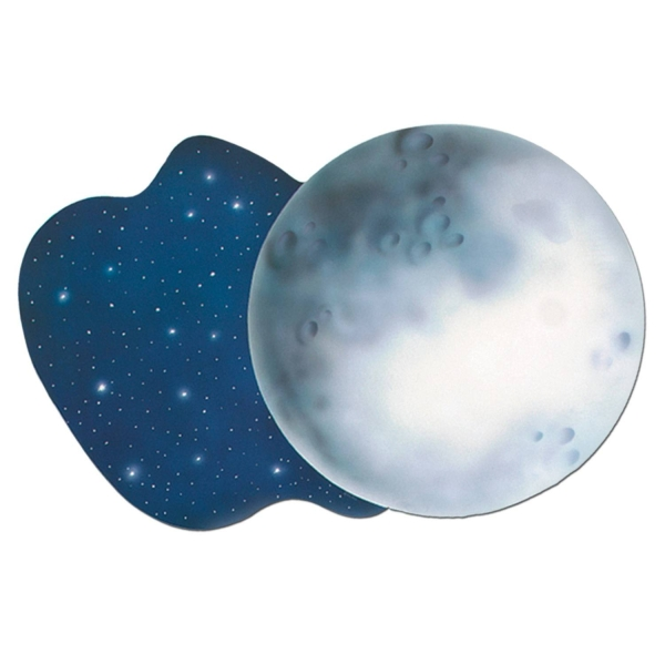 Party-Extra Cutout Dekoschild Mond