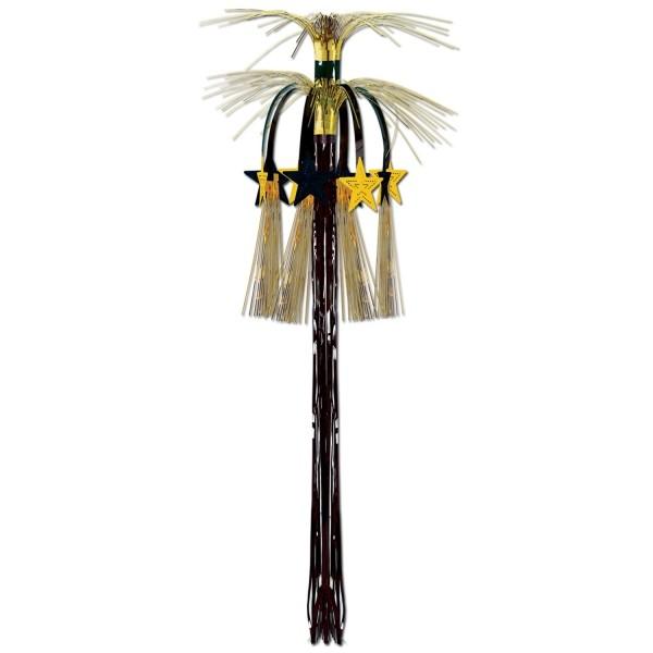 Große Dekokaskade Golden Starlight, 90 cm - Glamour Deko