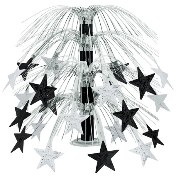 Grosse Tischkaskade Silver Starlight