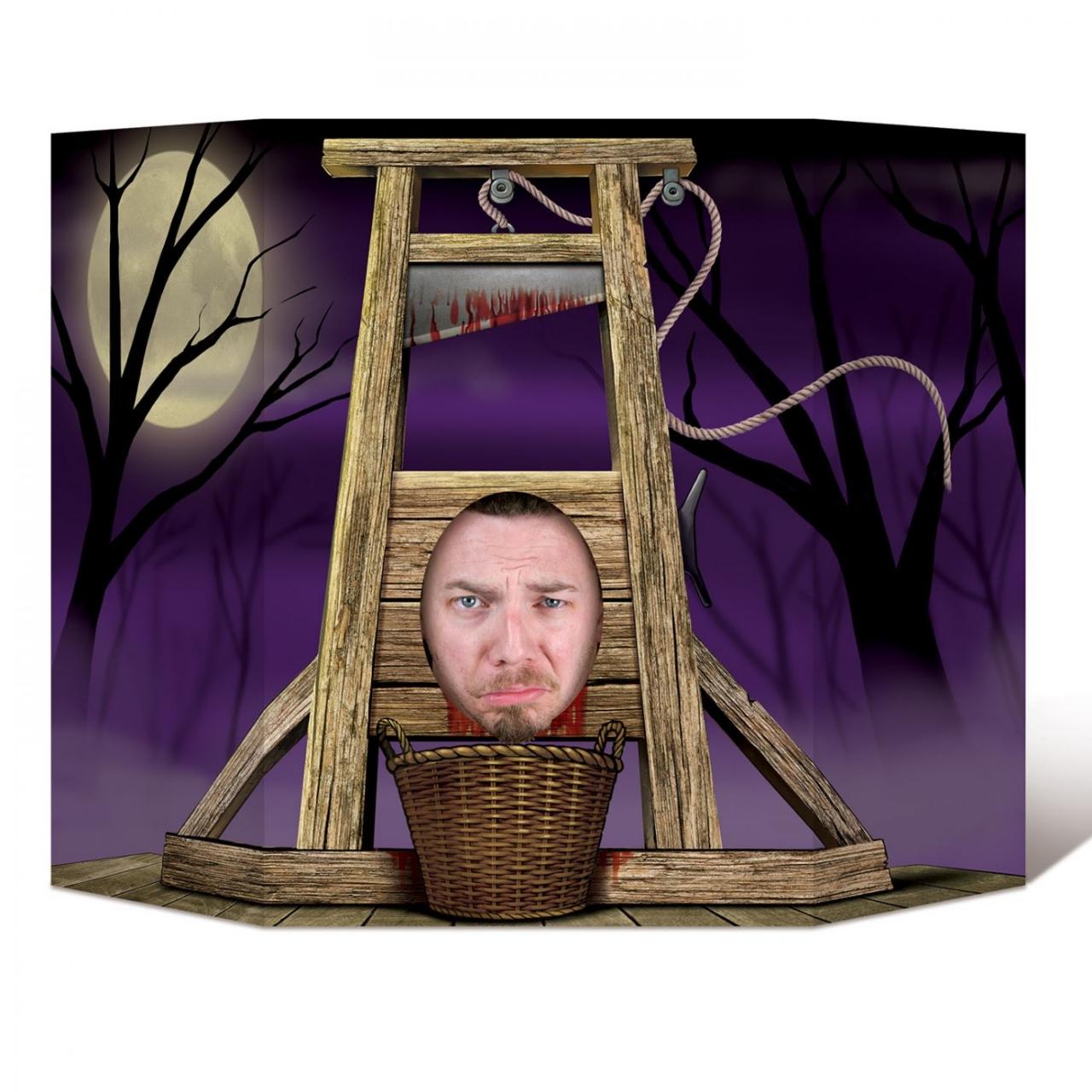 Halloween Fotowand.Fotowand Aufsteller Strafe Muss Sein 94 X 64 Cm