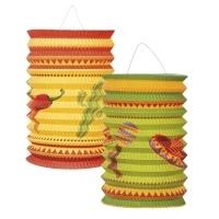 Laternenset Fiesta Mexicana, 2er Pack