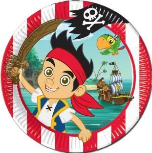 Pappteller Jake und die Nimmerland-Piraten