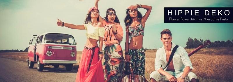 Hippie Deko Flower Power fuer Ihre Party, Legalize it!