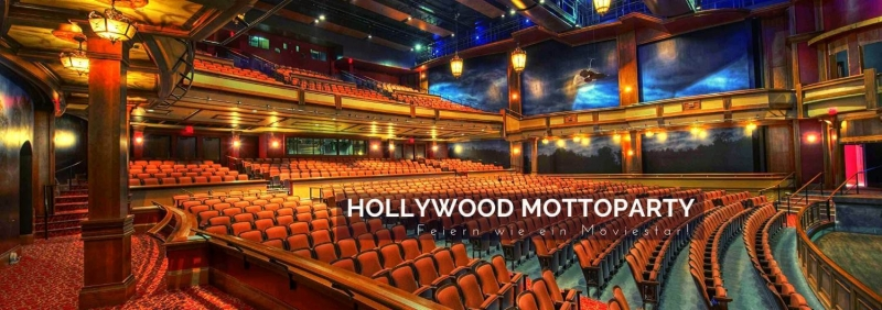 Hollywood Mottoparty Moviestar Film + Kino Deko