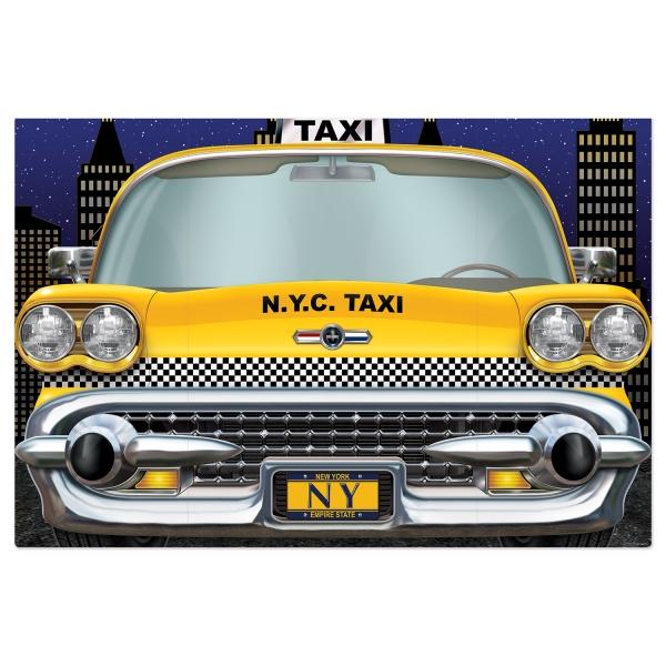 Fotowand-Aufsteller New York Taxi Cab - Amerika Deko