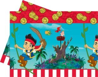 Plastiktischdecke Jake und die Nimmerland-Piraten, 120 x 180 cm groß