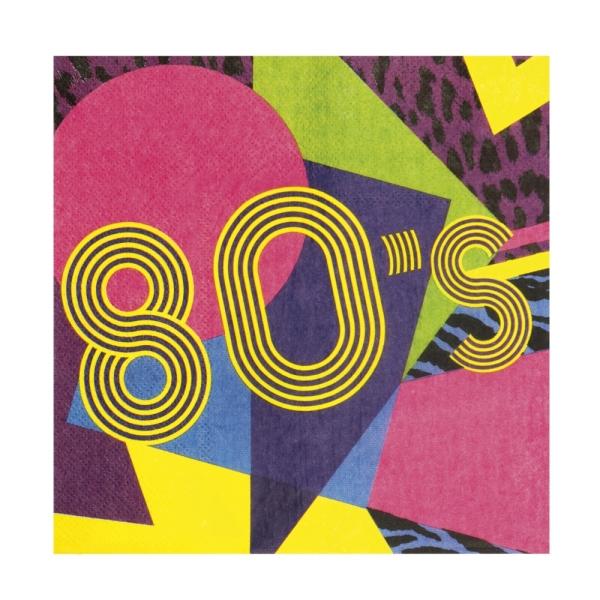 Servietten 80er Jahre