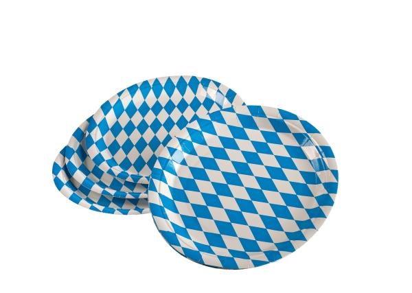 Pappteller Bayern - Oktoberfest Tischdeko