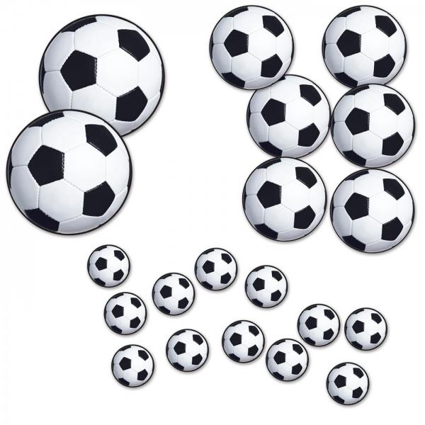 Cutout-Set Fussballfieber - Fussball Deko