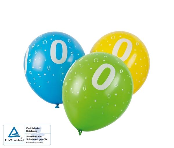 Zahlen-Luftballons 0-9