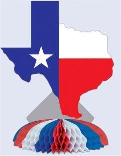 Party-Exxtra Tiischdeko Texas - Amerika Deko