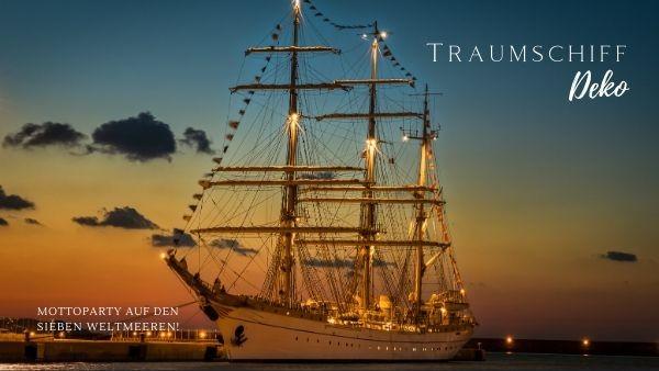 Mottoparty Traumschiff Deko