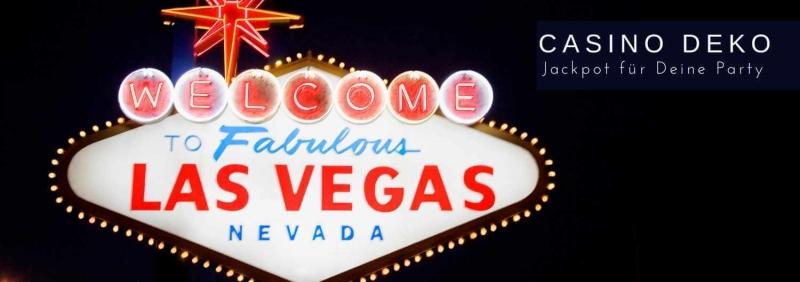 Casino Las Vegas Poker Party Deko Jackpot D