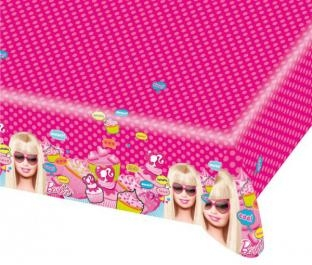 Plastik-Tischdecke Totally Barbie