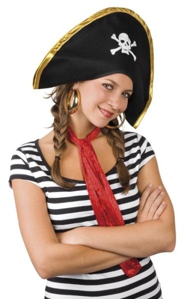 PartyExtra Mütze Piratenkapitän - Impression - Piratenparty Zubehör