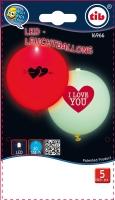 LED Leuchtballon I Lovw You