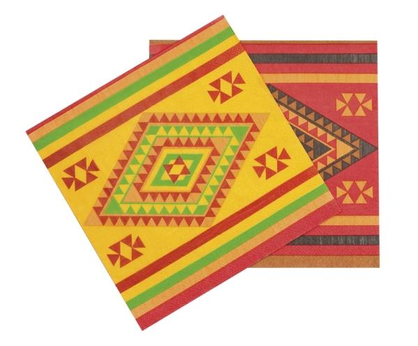 Servietten Fiesta Mexicana - Mexikoparty Tischdeko