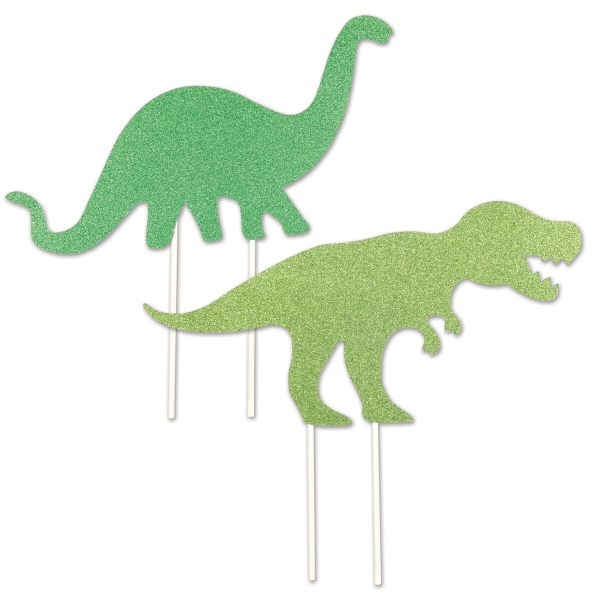 Dinosaurier Tortentopper, 2er Set
