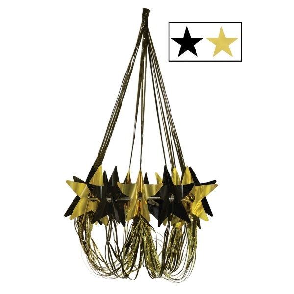 Party-Extra Festkranz Golden Starlight