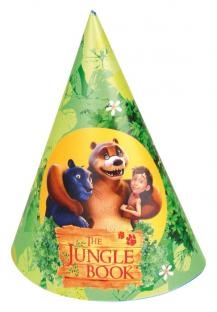 Partyhütchen The Jungle Book, 6er Pack