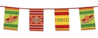 Party-Extra XL Wimpelkette Mexikanische Fiesta, 10 Meter