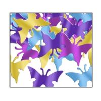 Party-Extra Tischkonfetti Schmetterlinge  Sommer Tischdeko