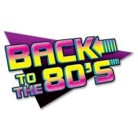 Dekoschild Back to the 80's