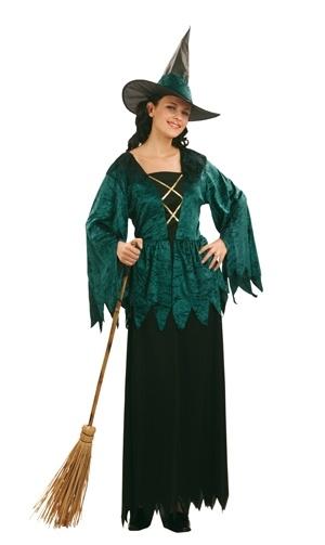 Damenkostüm Gothik-Hexe
