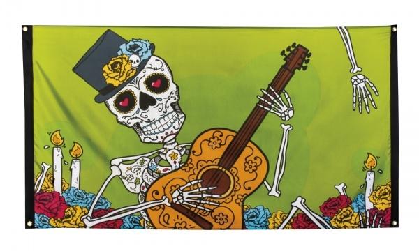 Dekofahne Day of the Dead - Dia de Muertos Deko