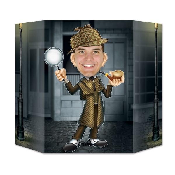 Fotowand-Aufsteller Sherlock Holmes von Scotland Yard