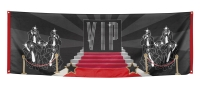 Mega-Partybanner VIP, 74 x 220 cm