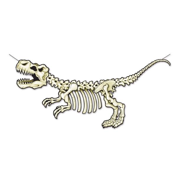 T-Rex Fossil Wanddeko - Dinosaurier Deko